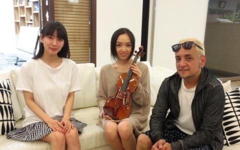 宮本笑里の娘 2歳でヴァイオリンの魅力知る