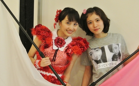 松岡茉優VSももクロ百田 同級生でトークバトル!!