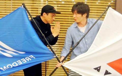 田中圭、満島真之介に「リアクション取りづらい」