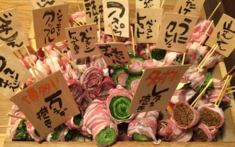博多で大人気「野菜巻き串」が渋谷で食べられる!