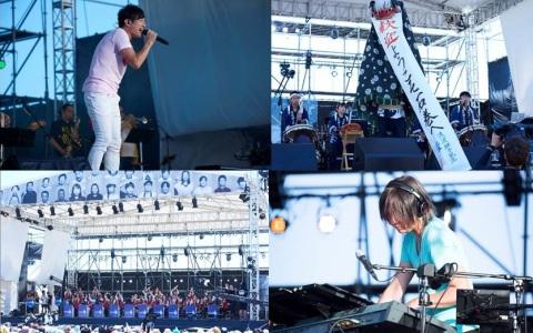 小林武史&桜井和寿の新曲も披露「RAF×ap bank fes」の裏側