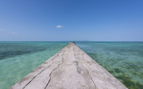 旅の達人が沖縄・竹富島の桟橋をすすめる理由