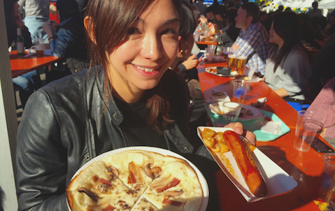横山エリカ ドイツフェスで再会した「懐かしの味」