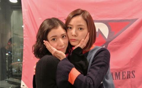 松岡茉優&朝日奈央、「とろろ蕎麦」で友達作り?