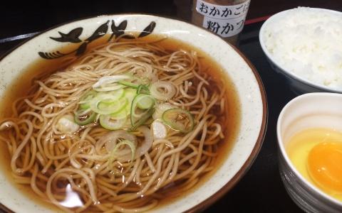 京橋に復活!タモリさんも大絶賛した絶品立ち食いそば