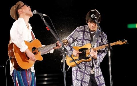 ハナレグミがギタージャンボリーでレアなコラボ