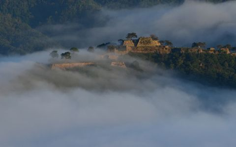雲海ブーム?竹田城が好きなら見ておきたい絶景の城