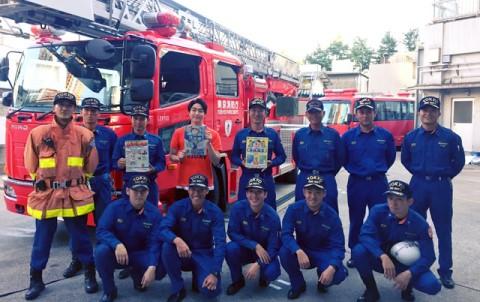 防火衣は約○kg…想像以上に大変な消防士の仕事
