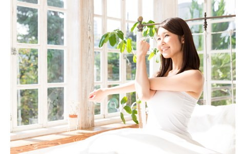寝たままできる簡単エクササイズで疲れがとれる方法