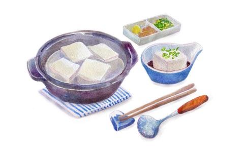 「豆源郷」店主おすすめの湯豆腐の食べ方