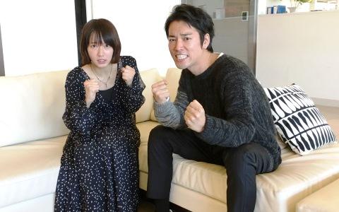 吉岡里帆×桐谷健太が共演トーク 「ひと肌脱ぎます!」