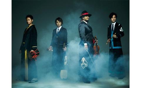 海外でも人気のヴァイオリン×和楽器のバンドが登場!