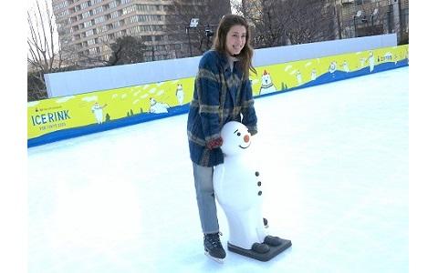 平昌五輪とスケートが楽しめる「三井不動産アイスリンク for TOKYO 2020」