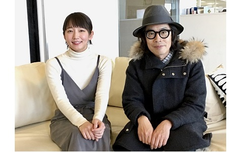 """吉岡里帆、""""憧れの人""""岸田繁と対談 くるり新曲を語る"""