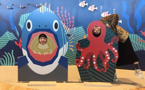 コムアイ、初めての水族園にハイテンション! そこで驚いたことは?