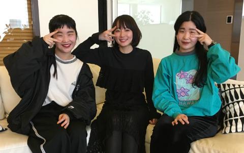 吉岡里帆「実は高校1年のとき…」丸秘話にCHAI大盛り上がり!