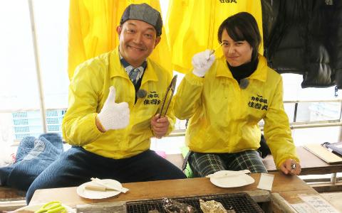 特大牡蠣のおいしさに山口智充・浦浜アリサ大感激! 春の糸島ドライブ、おすすめスポット