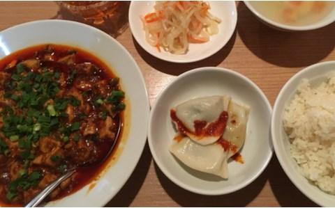 ランチを頼むと「水餃子」と「煮卵」が食べ放題になる中華店