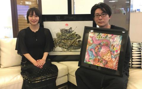 吉岡里帆も思わず感嘆! 現代美術家・笹田靖人が作品に込める思いとは?