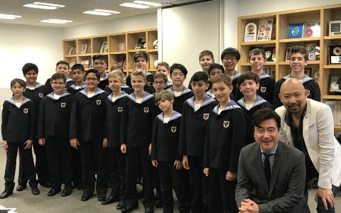 ウィーン少年合唱団が生合唱を披露! 歌ったのはジブリのあの曲