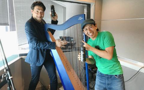 別所哲也も感激! 上原ひろみと共演したハープ奏者の生演奏