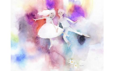 """画家·岩崎千寻复活! """"生活展"""",可以享受利用水彩图像的衣服"""