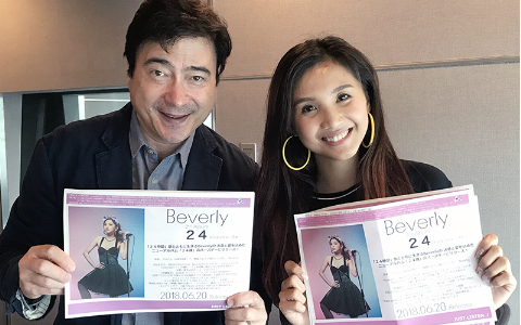 W杯に勝利を呼び込む『This Is Me』! フィリピン出身シンガー・Beverlyが生歌を披露