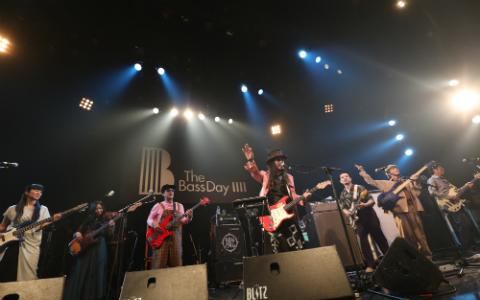 11月11日「ベースの日」、日本の音楽シーンを牽引するベーシストたちの競演に会場が熱狂【THE BASS DAY LIVE 2018】