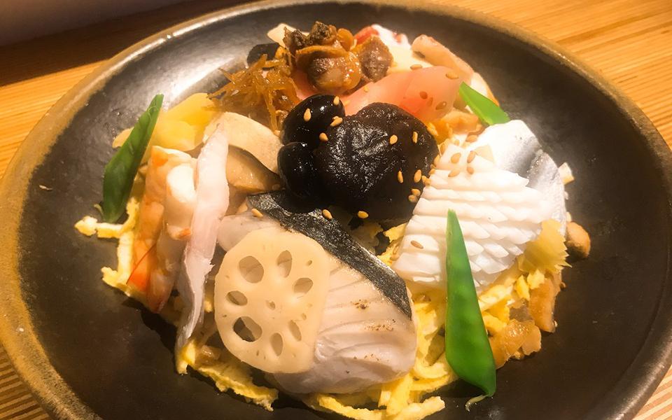 岡山県民が愛する元祖「ばらずし」 都内で唯一食べられるお店