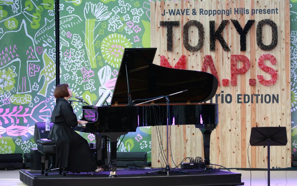 浜田真理子、故・遠藤ミチロウを追悼 六本木ヒルズアリーナに響いた心地よい歌声【TOKYO M.A.P.S】