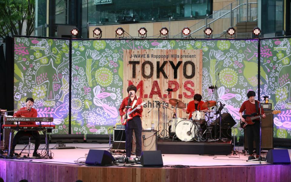 """フジファブリック、六本木ヒルズアリーナで『若者のすべて』披露! """"青春の風""""が吹き抜ける【TOKYO M.A.P.S】"""