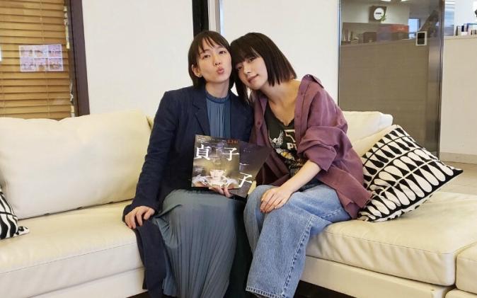 吉岡里帆×池田エライザの仲良しトーク! 「かわいい(笑)」と和んだエピソードは?