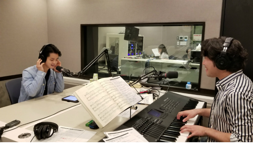 中井智彦×田代万里生がスタジオライブで共演! 「ミュージカル共演を目指します」