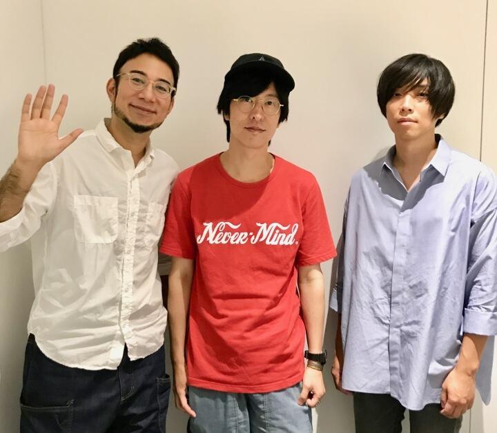 ストレイテナー・ホリエアツシとandrop・内澤崇仁、レディオヘッドとの出会いを語る「ギターってこんなに自由でいいんだ!」