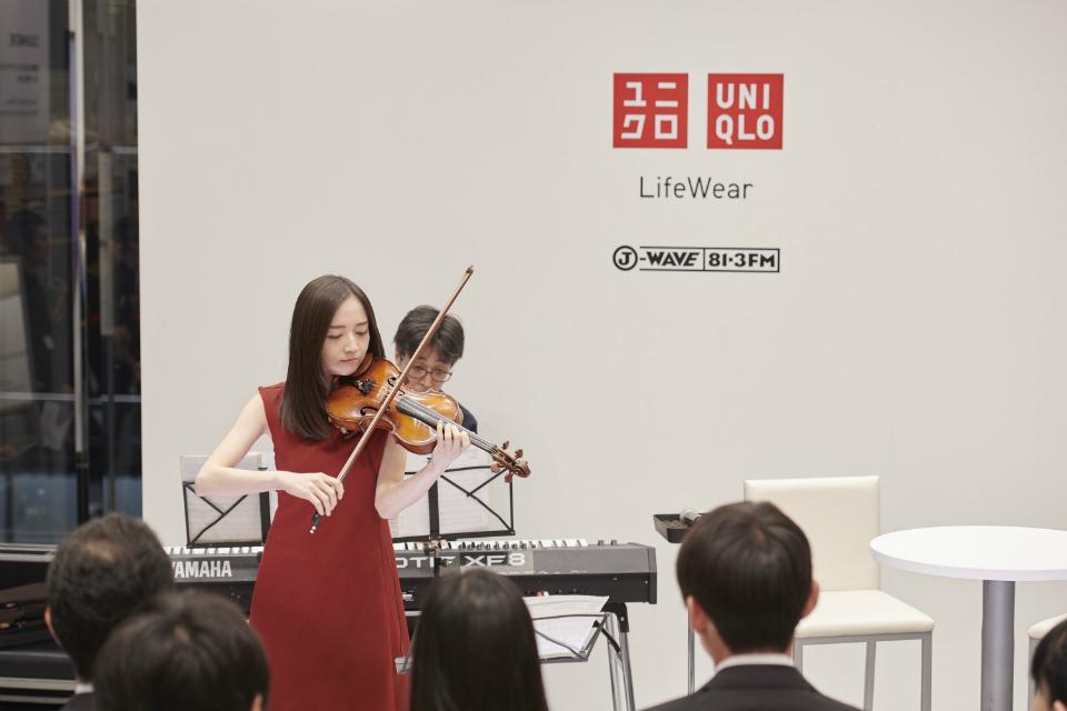 【音源あり】ヴァイオリニスト・宮本笑里が生演奏! 「透明な色」が見えてくる?