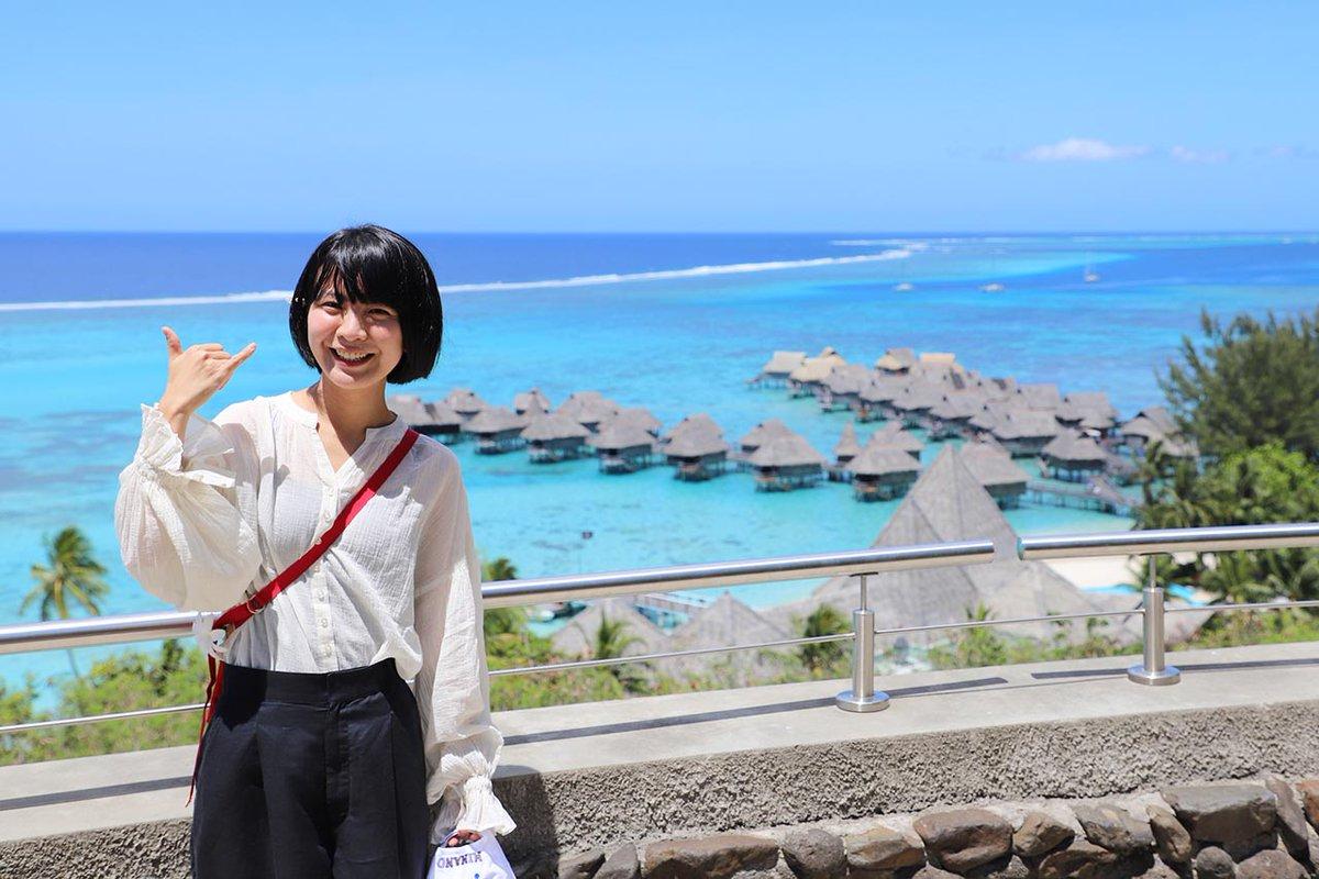 橋本絵莉子(チャットモンチー済)が、「地上の楽園・タヒチ島」へ! 現地でウクレレセッションに参加