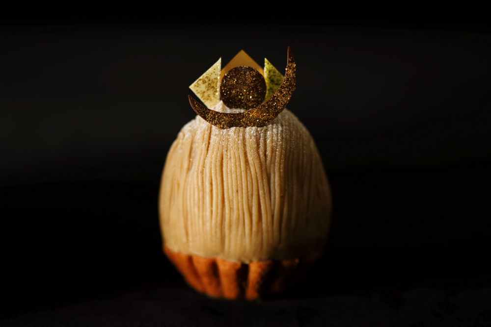 感動モノの味と美しさ! 「スーパーモンブラン」はホテルニューオータニの名物