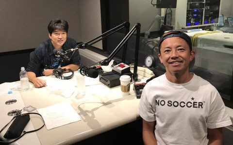 名波 浩、監督辞任の日に…ゴン中山が「無言でガッと抱きしめてきて」
