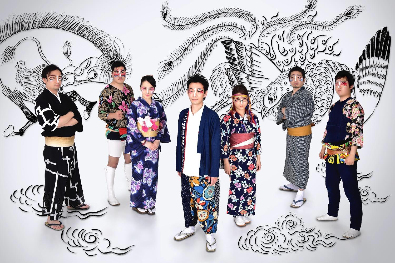 日本の伝統音楽とブラックミュージックの融合! 和楽器バンド・アラゲホンジ