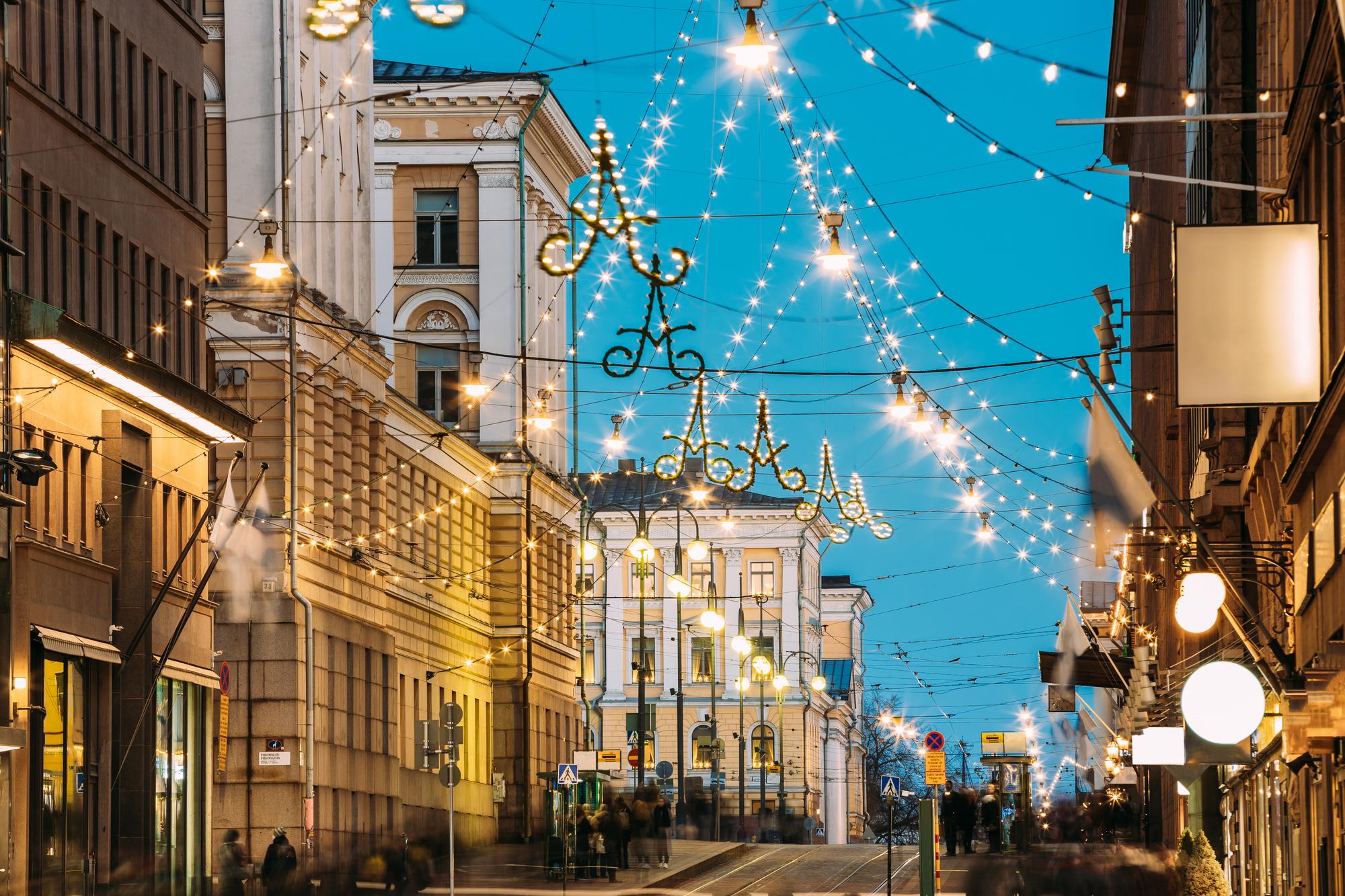 イブにはサウナに入る? フィンランド・ヘルシンキで楽しむクリスマス