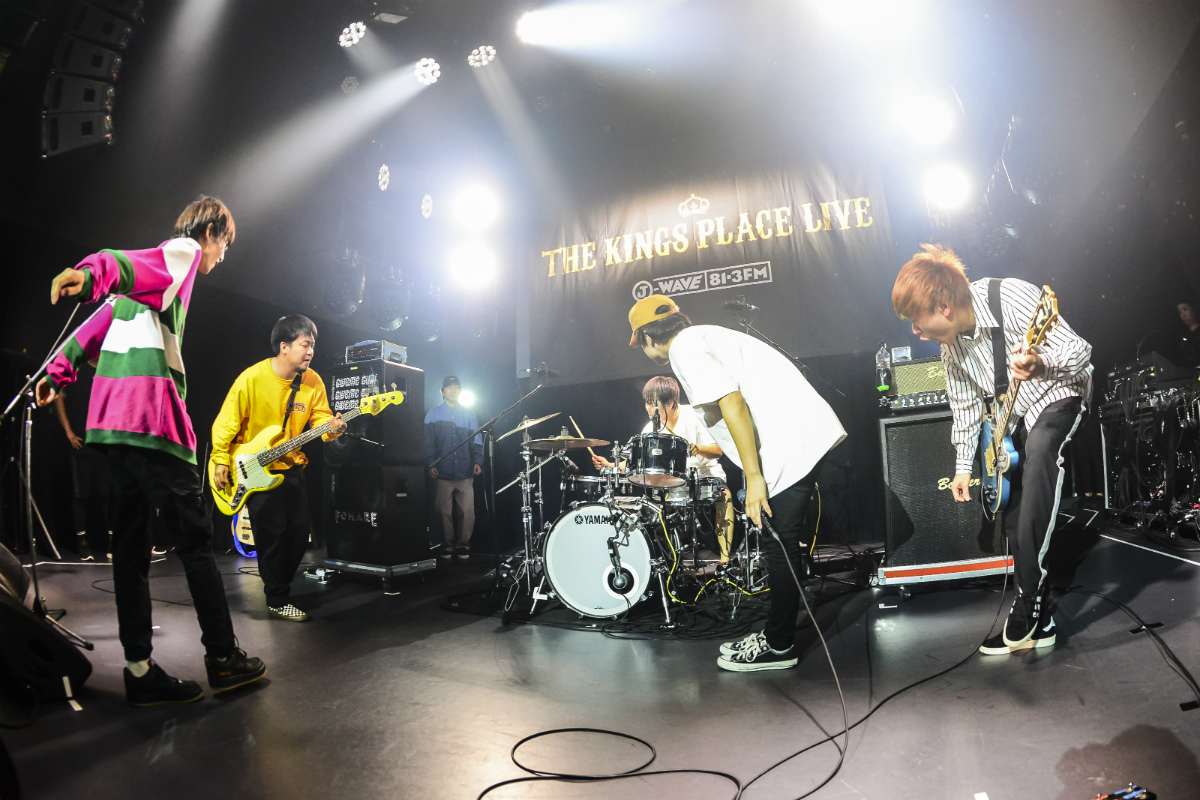 FOMARE×KUZIRAが夢の競演! 「THE KINGS PLACE LIVE vol.18」ライブレポート