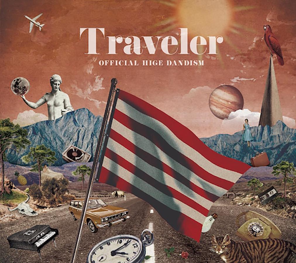 Official髭男dism『Traveler』ジャケットを手がけたM!DOR!、コラージュの魅力を語る