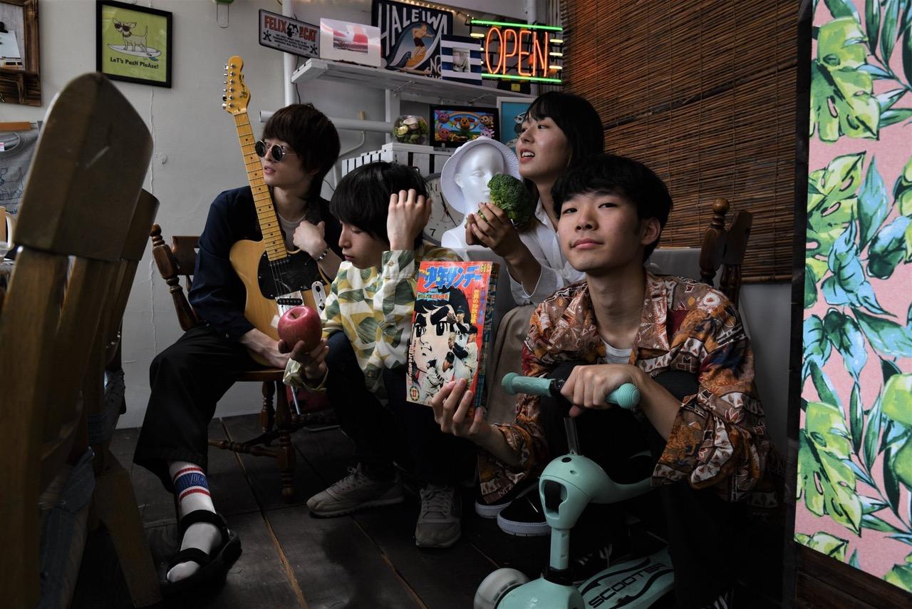 【注目の学生アーティスト】大阪のバンド・揺れるドレス、ルーツは90年代や2000年代初期の音楽