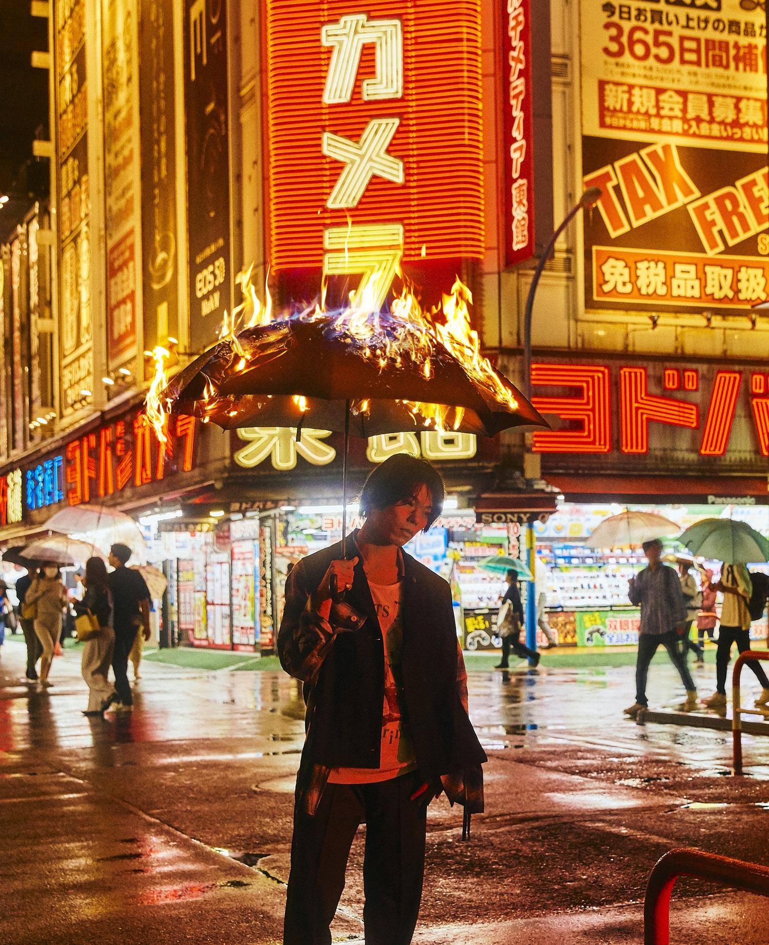 神山羊、シングル『群青』でメジャーデビュー! テーマは「踊れるギターサウンド」