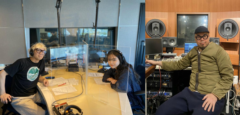 リスナー参加型「楽曲制作プロジェクト」が発足! FPM・田中×千原徹也×武藤千春が、J-WAVE『SHIBUYA DESIGN』で