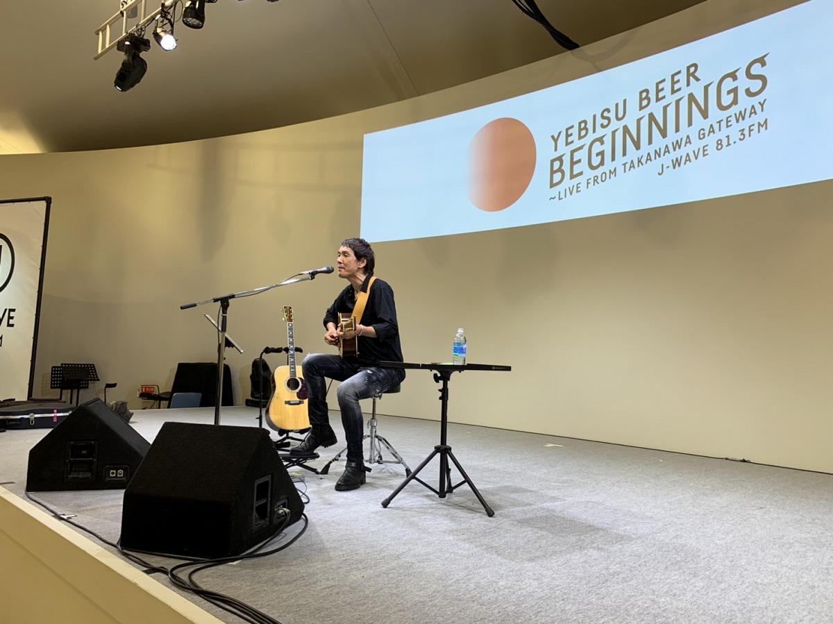 馬場俊英、新曲『ケムシのうた』を弾き語りで初披露! 「新しい気持ちで毎日を作っていこう」【音源あり】