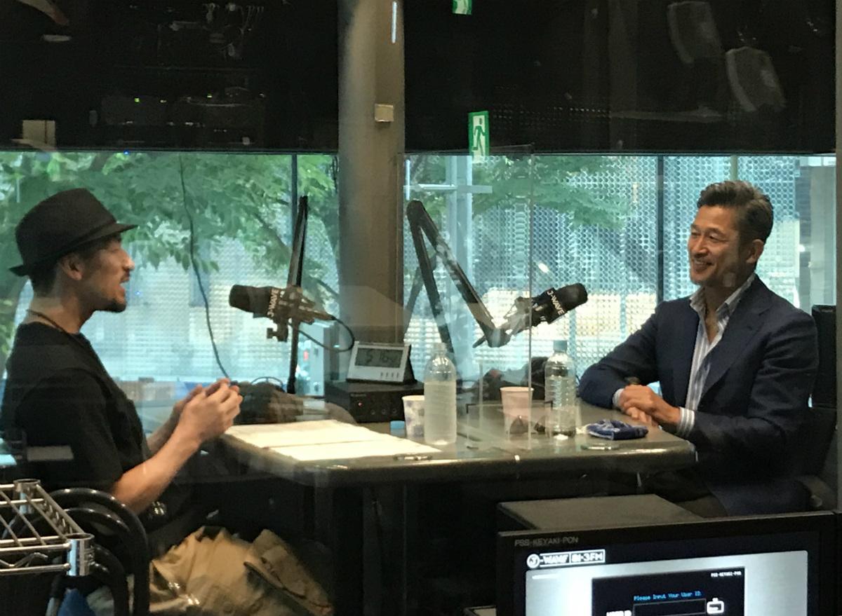 中田英寿×三浦和良 スペシャル対談、「SPINEAR」にて期間限定で音声配信スタート