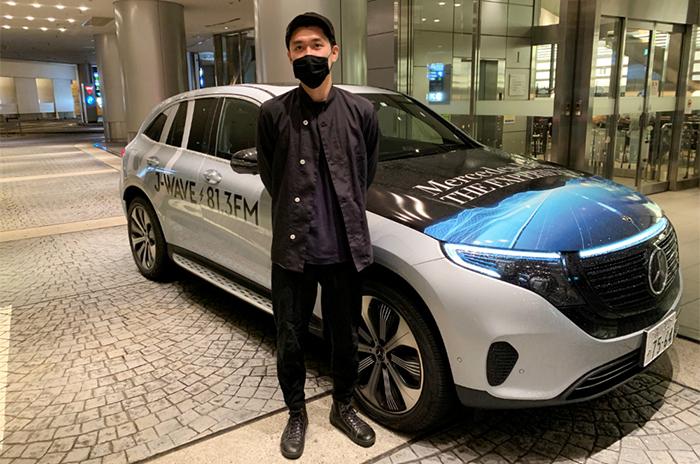 メルセデス・ベンツの電気自動車・EQCで行く!「ドライブスルー八百屋さん」って?