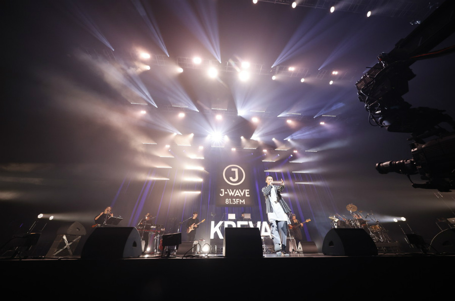 KREVA、エモーショナルに昇りつめるラップを披露【J-WAVE LIVE 2020】