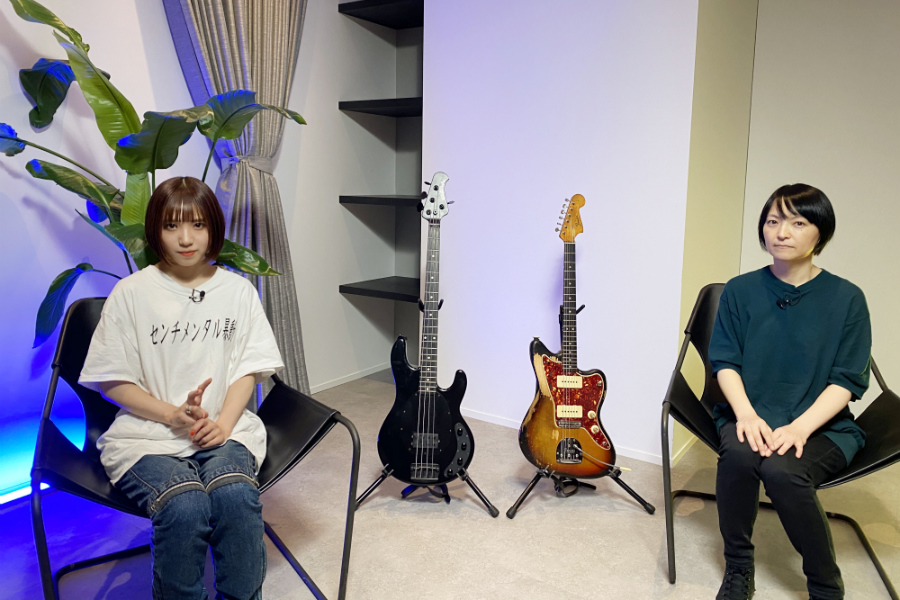 NUMBER GIRL・田渕ひさ子、13歳でギターを始めて…アユニ・Dが聞く音楽体験